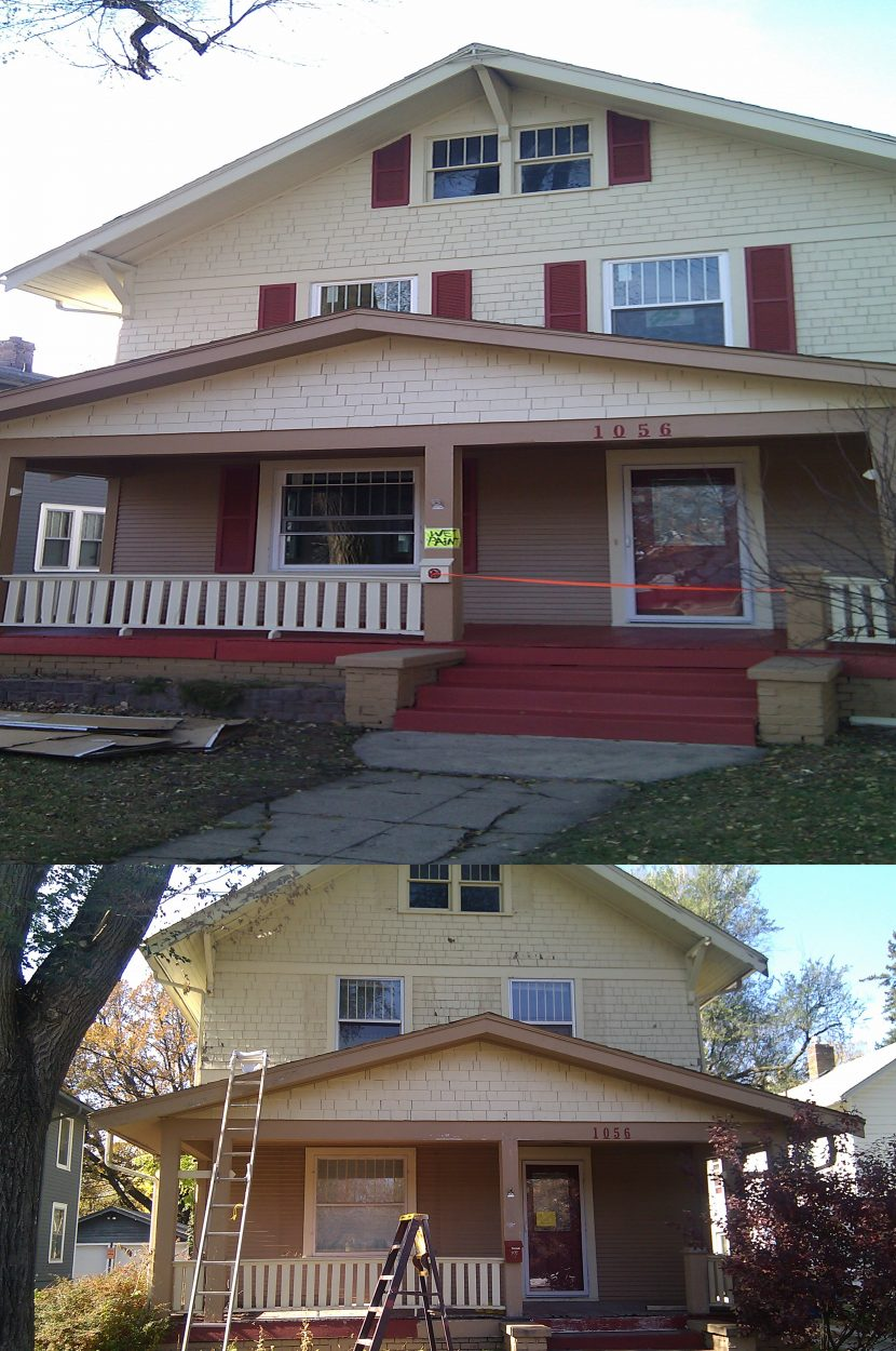 This Old House Exterior Painting Central Iowa Contractor