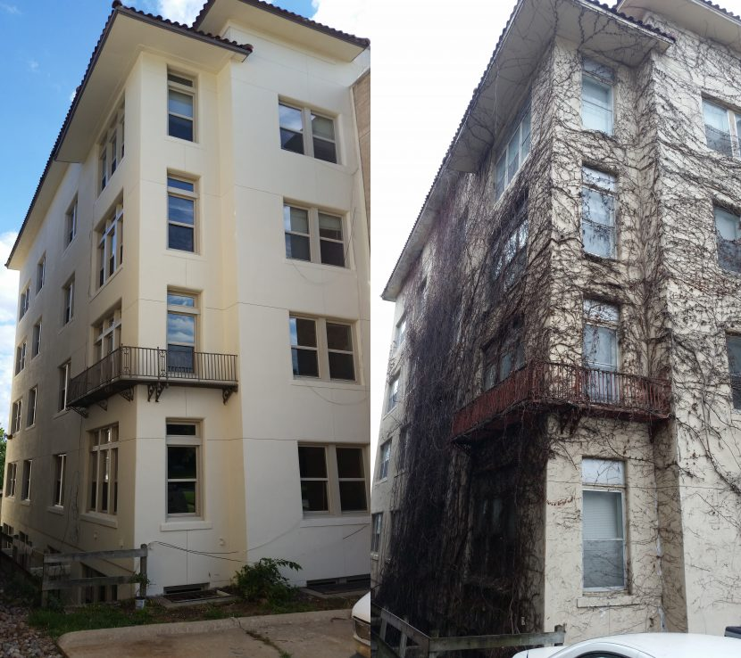 Cortez Bldg on Grand Ave Exterior Painting & Stucco Repair ...